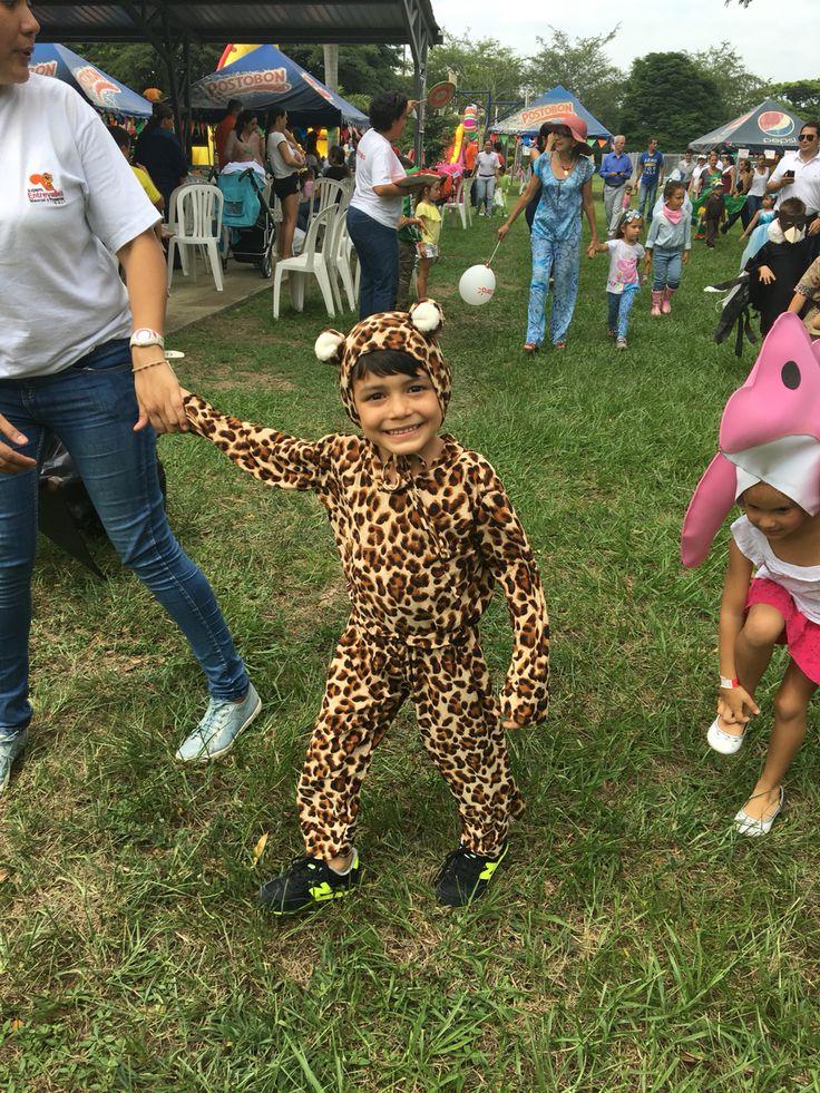 Disfraz de Leopardo, realizado por #ViCani_Design