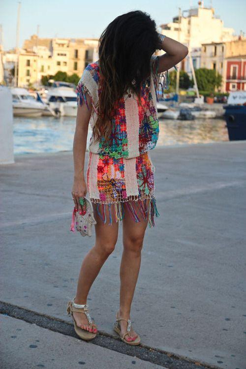 : Boho Chic, Beaches Dresses, Design Clothing, Cute Dresses, Myrtle Beaches, Beaches Covers, Dreams Dresses, Bohemian Style, Summer Clothing