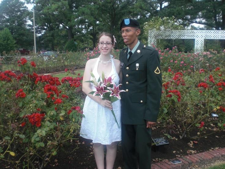 The Rose Garden At Huntington Park In Newport News, VA
