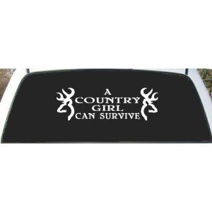 Best Decals Images On Pinterest - Rear window hunting decals for trucks