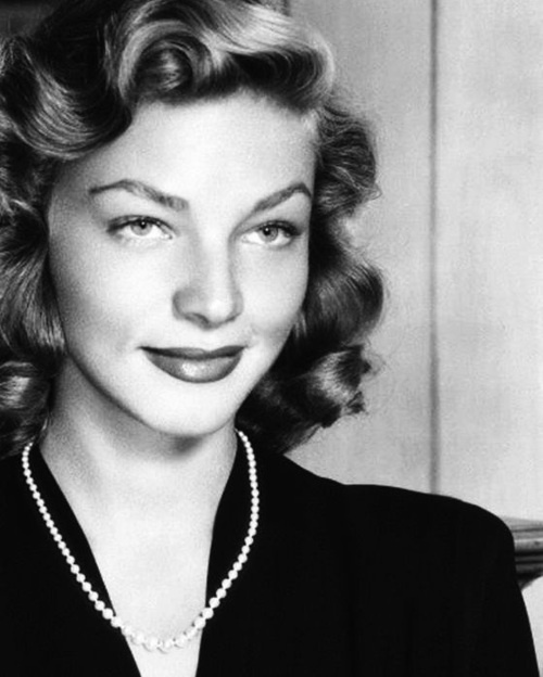 Lauren Bacall, lovely at any age