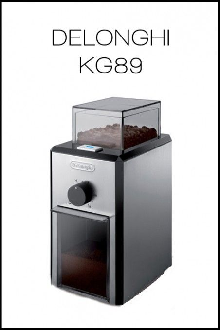 DELONGHI KG89 | OttenCoffee - Mesin Kopi , Coffee Grinder , Barista Tools , Kopi Indonesia
