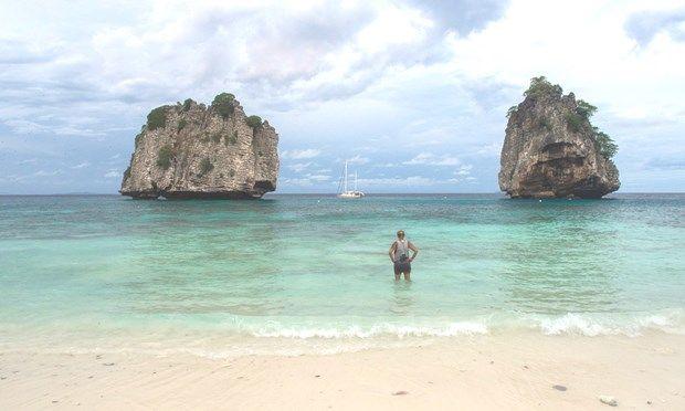 Swimming off Ko Ha (Liz Cleere/Jamie Furlong)