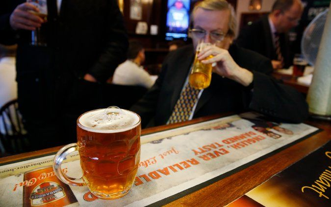 New Health Advice for Britons: No More Than Six Pints a Week - The New York Times
