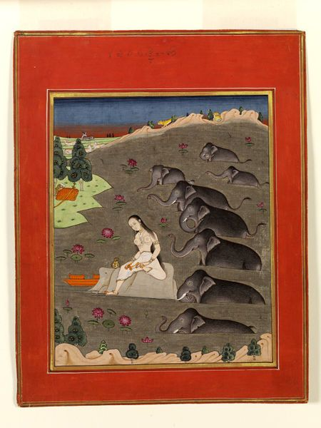 Eastern Deccan, India (made)  Machilipatnam, India (possibly, made)  Date: ca. 1780 (made)  Artist/Maker: unknown (production)  Materials and Techniques: Painted in opaque watercolour on paper
