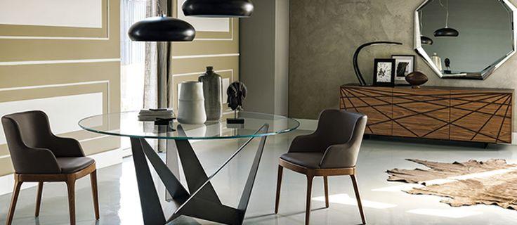 Tavoli Cattelan: quando la concretezza degli arredi si fonde con la bellezza delle forme, tipica del gusto italiano.