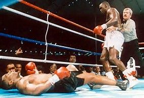 James Buster Douglas knocks out Mike Tyson in the greatest upset in sports history 1990 http://ift.tt/2z3cDEz