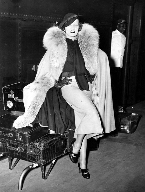 Marlene Dietrich, 1935.