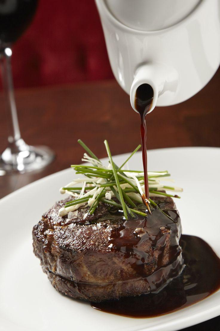 A juicy steak at Michael Jordan's Steakhouse