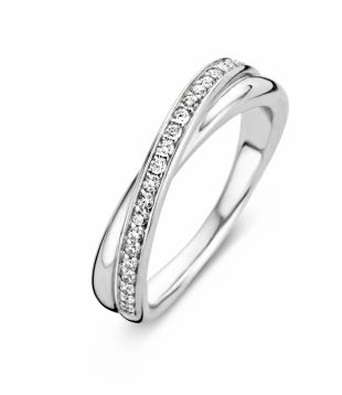 Verlovingsring Ti Sento Ring - Ti Sento Milano Ring 1953ZI | Juwelier Keuvelaar
