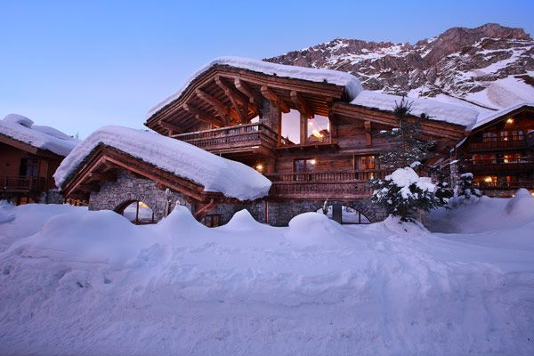 """""""Chalet Marco Polo"""" in Val d'Isere, France"""" (clearly, that's the website's caption lol)"""