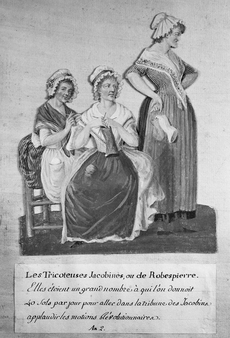 17 best images about the french revolution louis desc jacobin knitters from folio 40 of book of gouaches on the french revolution by the lesueur brothers late century yen credit the art archive muse