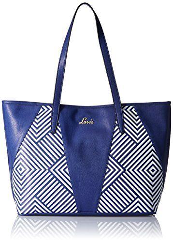 0f279c69a0 Lavie Women Handbag (Navy)(HSCS989040J3) - TellMePrice.com Online Shopping  India