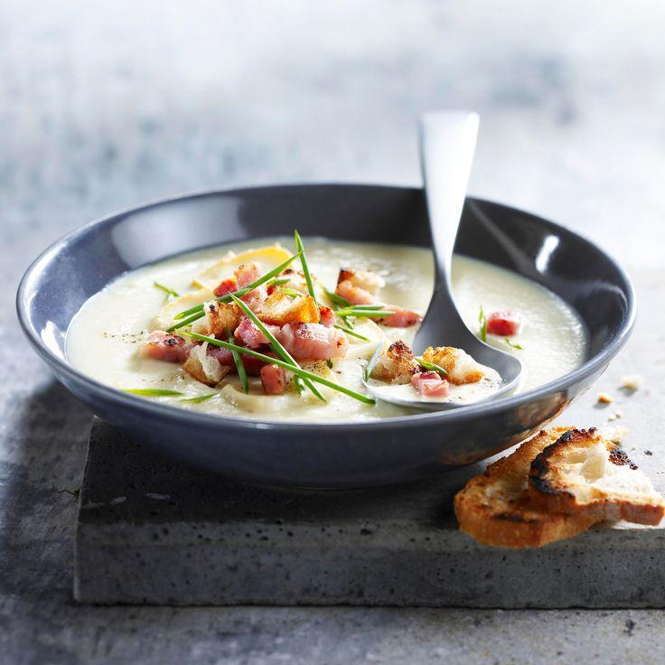 Découvrez la recette de la soupe façon tartiflette