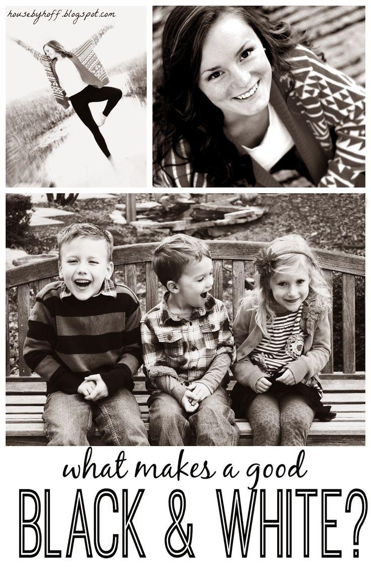 Tips for taking great black & whites!