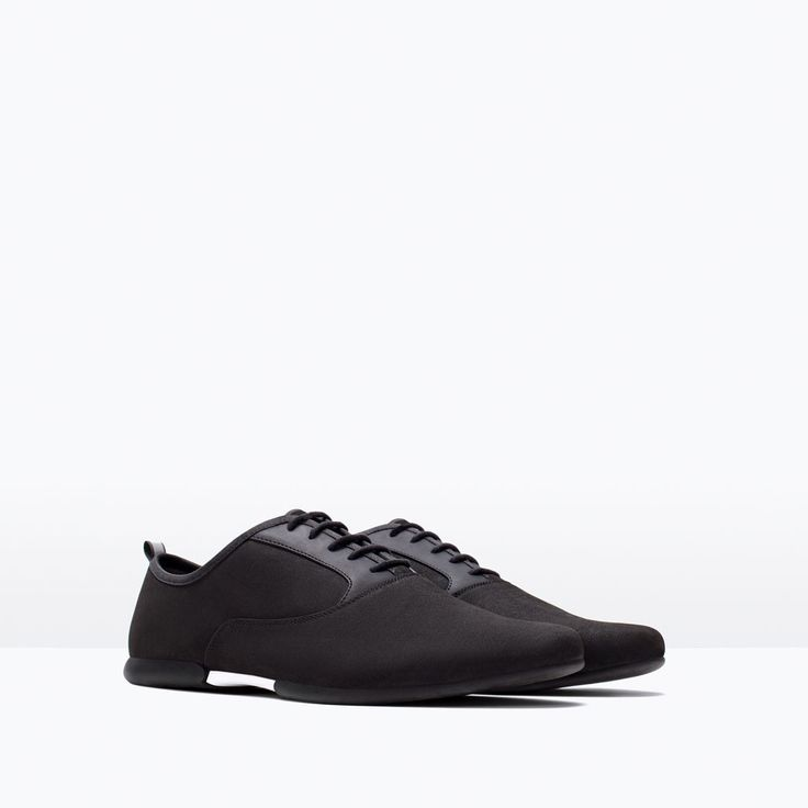 image 2 of technical slim casual shoes from zara