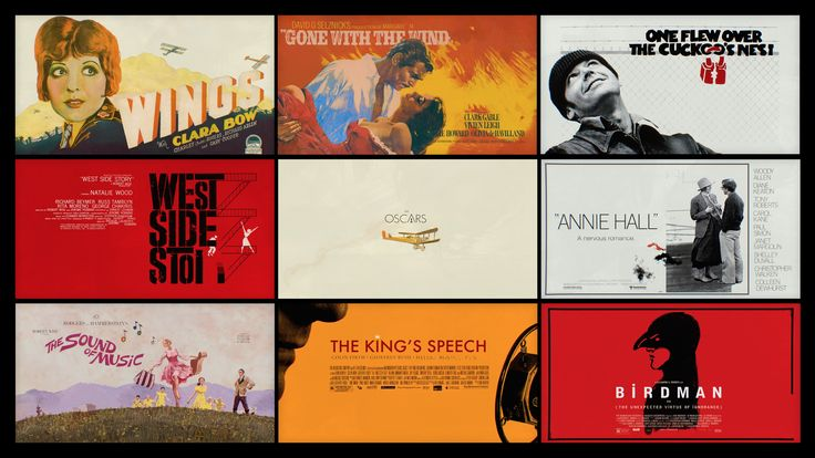 A video charting the progression of Academy Award®-winning Best Picture poster art, from the early 20th century to present.