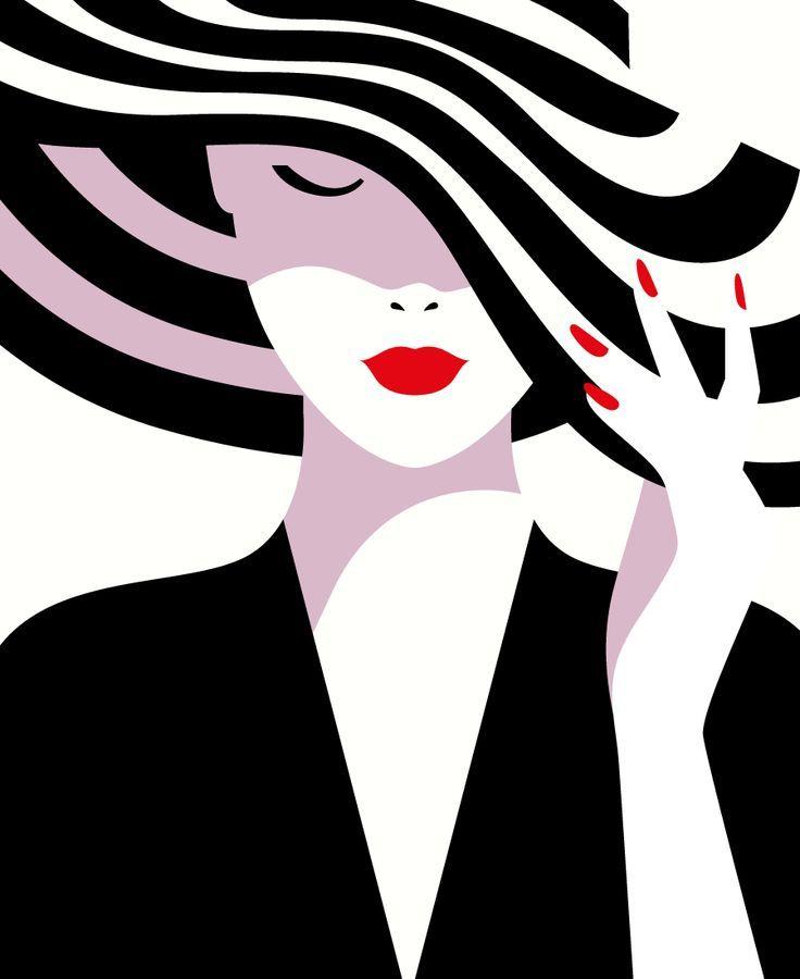 O estilo minimalista ousado da francesa Malika Favre