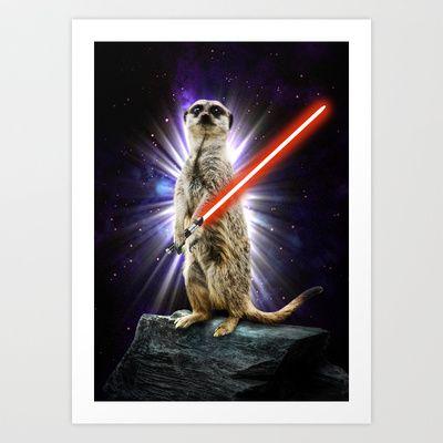 Meerkat Art Print by zumzzet - $16.00