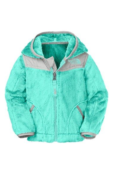 The North Face 'Oso' Hooded Fleece Jacket (Baby Girls) available at #Nordstrom