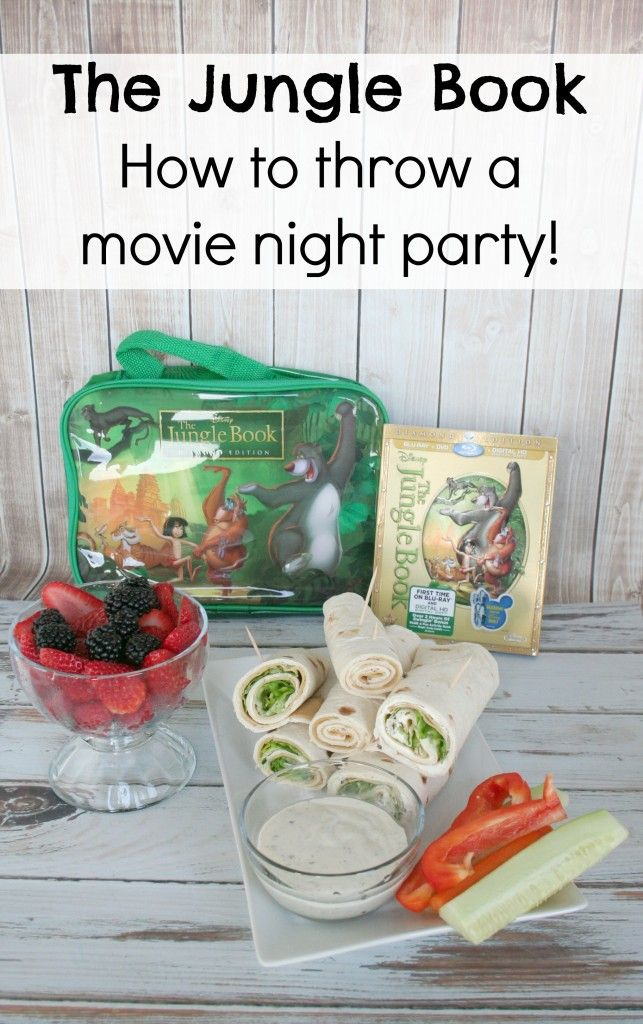 It's a Lovely Life! | How To Throw a Jungle Book Movie Night Party #JungleFresh #CollectiveBias