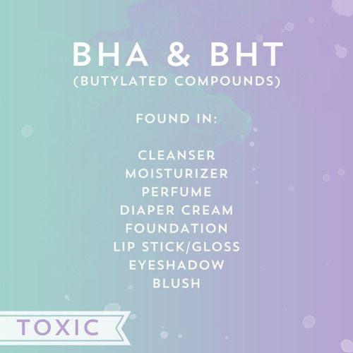 Image result for The Preservative BHA and BHT