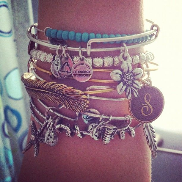 : Summer Styles, Arm Candy, Arm Party, Hippie Styles, Stacking Bracelets, Alex And Ani, Alex Ani, Alexandani, Alex O'Loughlin