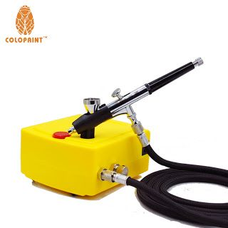 0.2mm 2CC Nail Art Airbrush System Kit For Nail Art Makeup Body Paint 100-240V (32686993173)  SEE MORE  #SuperDeals