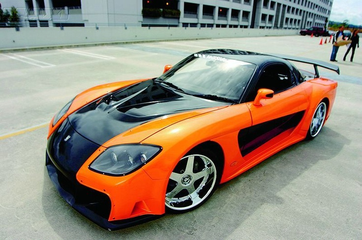 Mazda RX7 Fast and Furious