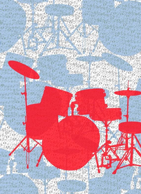 Let the drum kick.