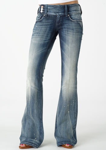 Vigold Premium Extend-Tab Stretch Bootcut Jean.  I have these and LOVE THEM!  For the girls with the curves in all the right places.  FANTASTIC QUALITY, super thick!