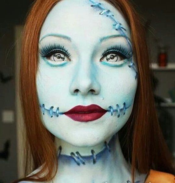 13 spooky halloween makeup ideas for girls on the go no costume ...