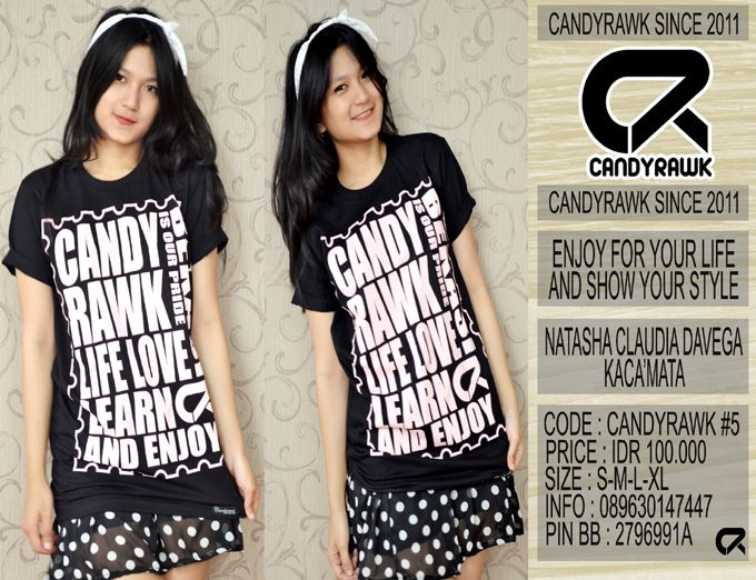 #37 | CANDYRAWK #5 | IDR 100.000 | SOLD OUT |