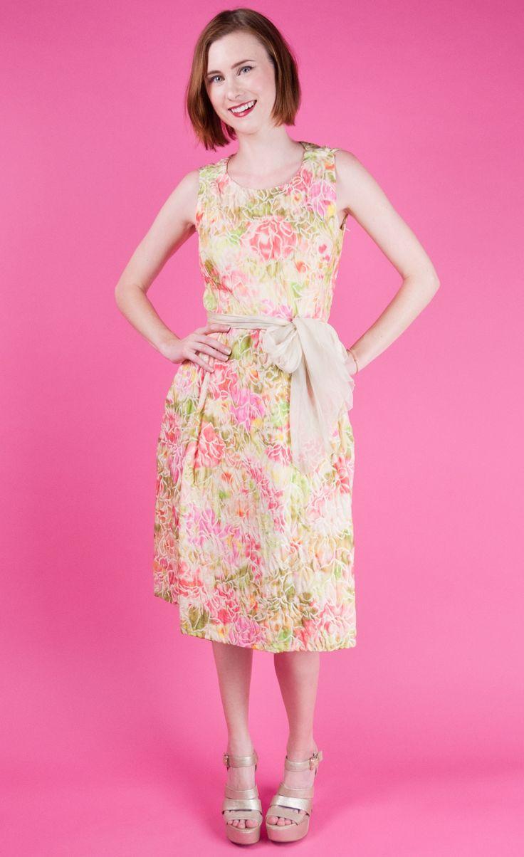 80 best bridesmaid dresses images on pinterest brocade fabric violetville vintage galanos vtg 50s couture ombre brocade dress pinkgreenivory xs ombrellifo Images