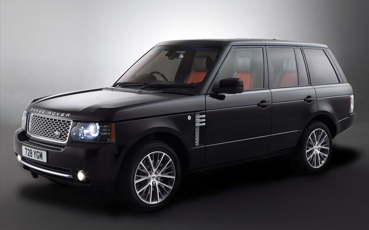 2011 Range Rover black edition