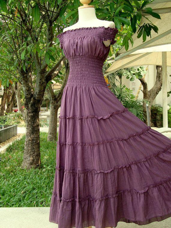 Cotton Maxi Dresses On Sale