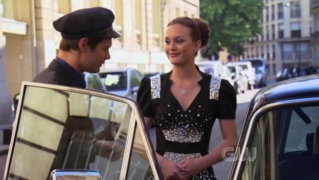 Gossip Girl Season 4 Episode 1 Blair. What an embellished dress
