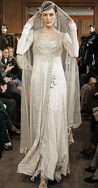 white bridal sharara | ... Maria B High Fashion Bridal Wear Party Wear Haute Couture Bridal Wear