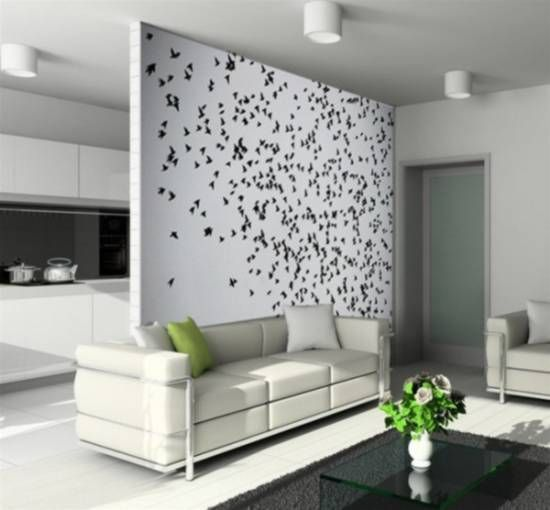 Elegant Living Room Wall Painting Ideas