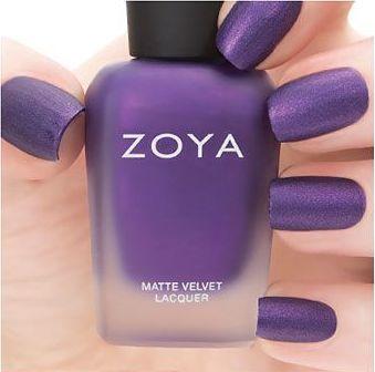 Zoya Matte Velvet Savita