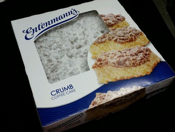 3 boxes entenmanns crumb coffee cake free priority