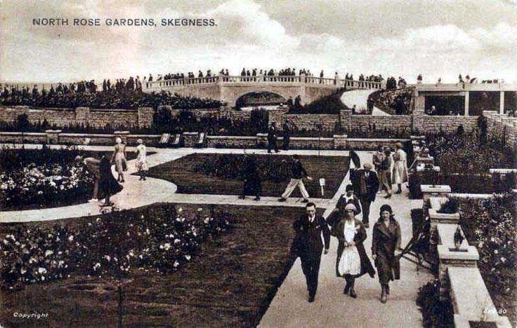 Lincolnshire, Skegness, North Rose Gardens 1930's.jpg 800×509 pixels