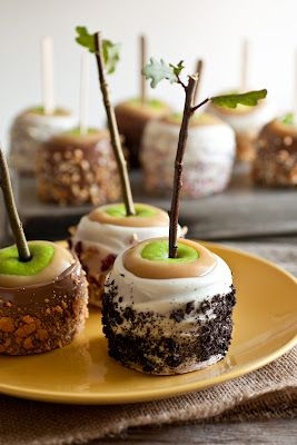 caramel apples: Desserts, Fall Parties, Cooking Classy, Candy Apples, Apples Recipe, Fall Treats, Trees, Ultimate Caramel, Caramel Apples