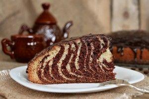 Пирог Зебра - Рецепты. Кулинарные рецепты блюд с фото - рецепты салатов, первые и вторые блюда, рецепты выпечки, десерты и закуски - IVONA - bigmir)net - IVONA bigmir)net
