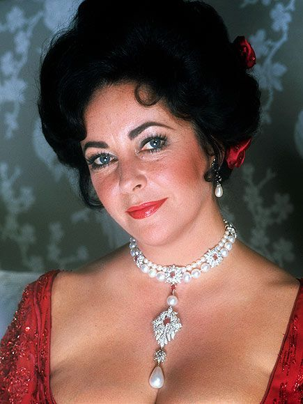 LA PEREGRINA Sold for: $11.8 million Discovered in the 1500s in the Gulf of Panama, the pear-shaped pearl on this ruby-and-diamond necklace became part of the crown jewels of Spain. Taylor's husband Richard Burton (whom she married twice) purchased the stone for her in 1969, paying $37,000 in an auction.