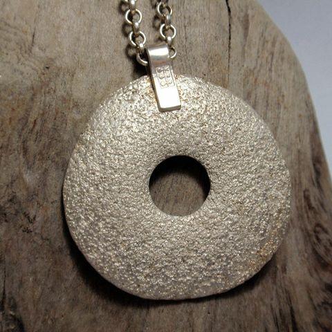 Silver Circle Pendant – Unio Goldsmith