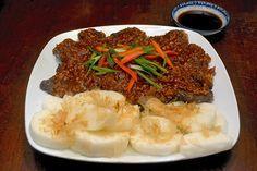 A delicious venison recipe prepared from a North Korean recipe.  Also includes links to a new North Korean food site!