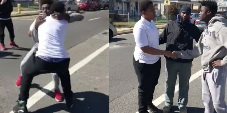 Man Breaks Up Teen's Street Fight By Dropping Some Serious Wisdom | HuffPost