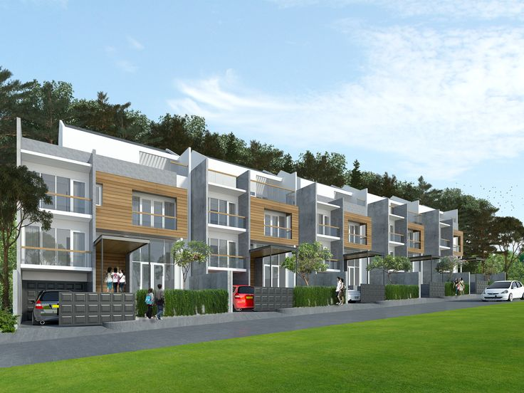 Town House, Bandung, West Java    Sketchup | Vray | Photoshop