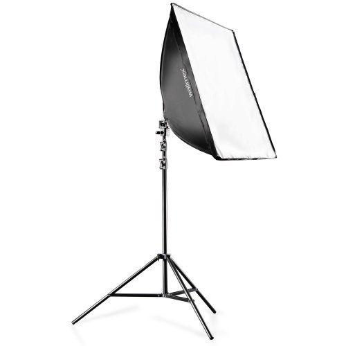 2 x Dauerlicht Set 50x70cm Softbox Fotostudio Set: Amazon.de: Kamera
